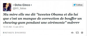 French Tweets Sum Up Obama's Lack of Class During 70th Anniversary ...
