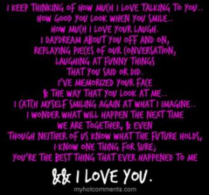 I Really Love You Funny Quotes : Really Love Him Quotes. QuotesGram