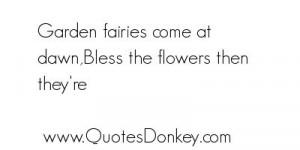 fairy garden quotes