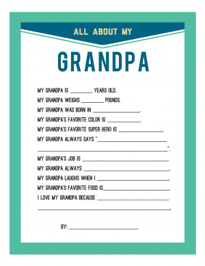 Fathers Day Quotes For Grandpa For fathers day, i have