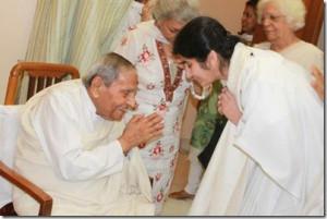 Brahmakumaris Sister Shivani amp Dada J P Vasvani at Sadhu Vaswani