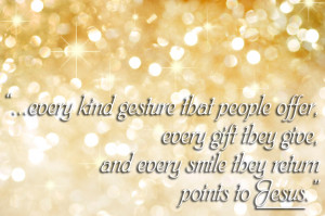 Christmas Quotes About Giving Gifts ~ And Then Along Comes Christmas ...