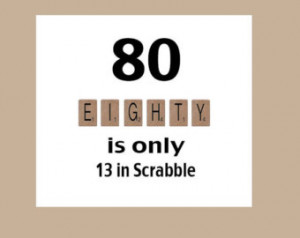 80th Birthday Card, 80th Birthday, Milestone Birthday, The Big 80 ...