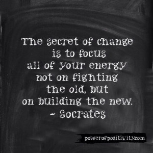 MOTIVATION 15 Best Socrates Picture Quotes - The secret of change is ...