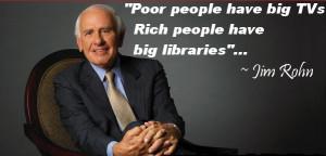 Quotes Poor people have big TVs Rich 1 Top 10 Reasons Why Broke People ...