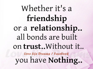 Quotes About Love And Trust In A Relationship Hd Love Life Dreams ...