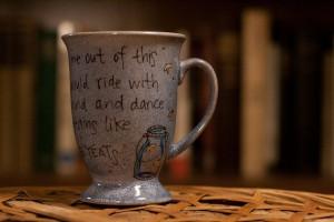 ... Yeats Come fairies Literary quote mug by OpheliasGypsyCaravan, $16.00