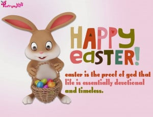Happy Easter Quotes Image