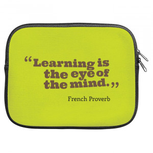 French Proverb French Quotes Zipper Pouch