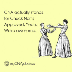 CNA Job Jokes that are Chuck Norris Approved