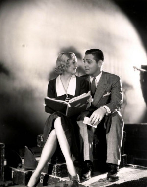 ... and Clark Gable for No man of her own directed by Wesley Ruggles, 1932