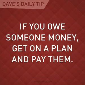 Owe Money