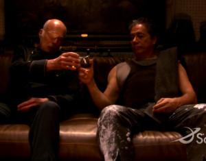 Adama & Tigh, 'Battlestar Galactica'