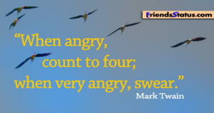 Bee Angry Anger Quotes...