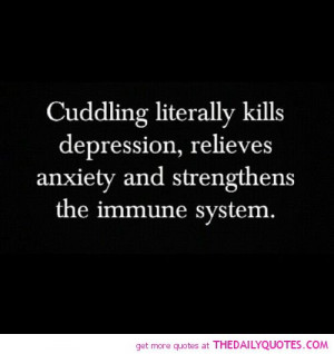 Love Cuddling With You Quotes