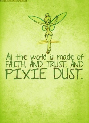 Tinkerbell Quote / Peter Pan