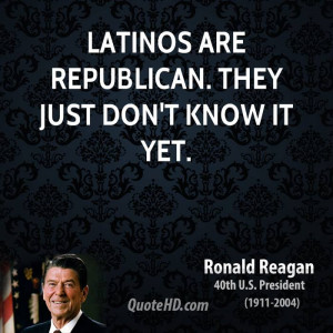 Latinos are Republican. They just don't know it yet.