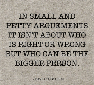 Small Words Of Daily Quotes In Small And Pretty Arguments It Isn't ...