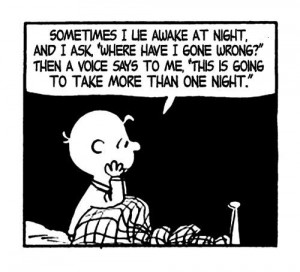 Ironic quotes about life charles schulz