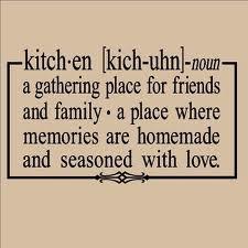 kitchen sayings - Google Search