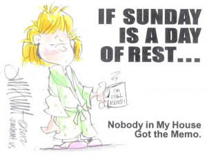 If Sunday Is A Day