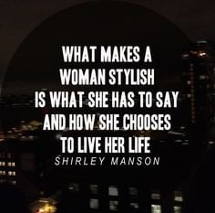 quoted: shirley manson