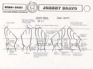 Johnny Bravo Head Turn