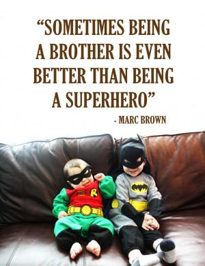 Superhero Brothers
