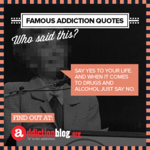 drug addiction quotes and sayings