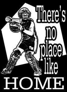 ... like home plate for a softball girl !!...for my daughter - the catcher