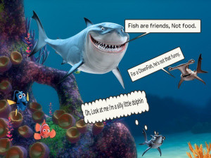 Disney Film Quote Finding Nemo