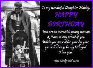 Happy Birthday Dad From Daughter Quotes Happy Birthday Dad From