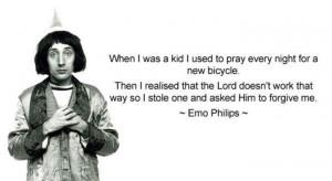Emo Phillips: Imaginary Friends, Phillip Explain, Hate Quotes, Funny ...