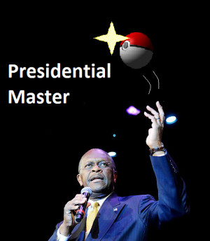 Herman Cain quotes Pokemon 2000 movie