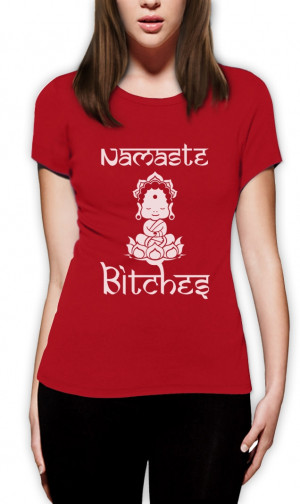 ... -Women-T-Shirt-Rude-Funny-Yoga-Clothing-Workout-Quotes-Gym-style