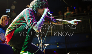 Lyric Quotes From Screamo Bands