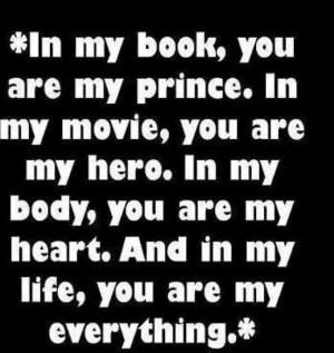 in my life you are my everything