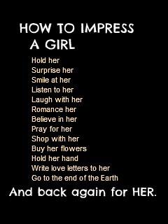 Impress A Girl