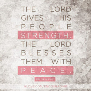 God gives me strength!