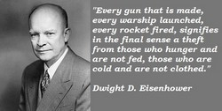 ... and as a president. Following are some of Eisenhower's best quotes
