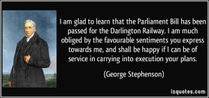 More George Stephenson Quotes