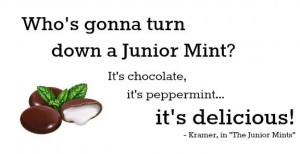 seinfeld quote junior mints