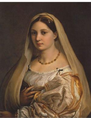 Raphael, La Donna Velata , c. 1514-1516. Oil on canvas, Palazzo Pitti ...