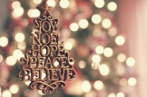 believe, christmas, hope, joy, noel