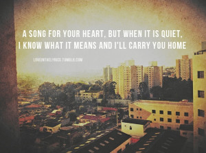 Carry You Home - James Blunt, i want these lyrics tattooed know me.