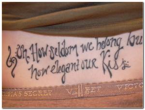 Word Tattoo Designs