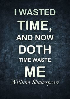 shakespeare quotes time quotesgram