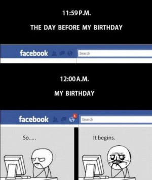 Facebook – Happy Birthday Meme-Style