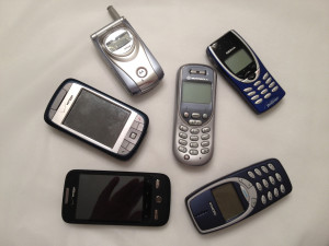 Old Cell Phone Of every cell phone i have