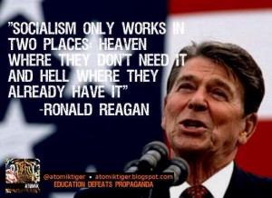 Ronald Reagan on Socialism | The Reagan Club of Colorado